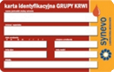 Karta Grupy Krwi